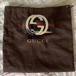 Gucci NEW Mint men's leather belt